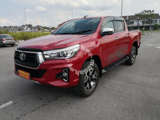 2018 Toyota HILUX 2 8 L-EDITION FACELIFT (A) - Cars for sale in Kuching,  Sarawak