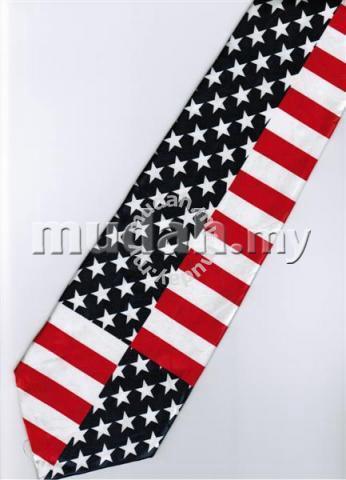 a653330578dd Patriotic American Flag Novelty Fancy Neck Tie 3 - Watches & Fashion ...