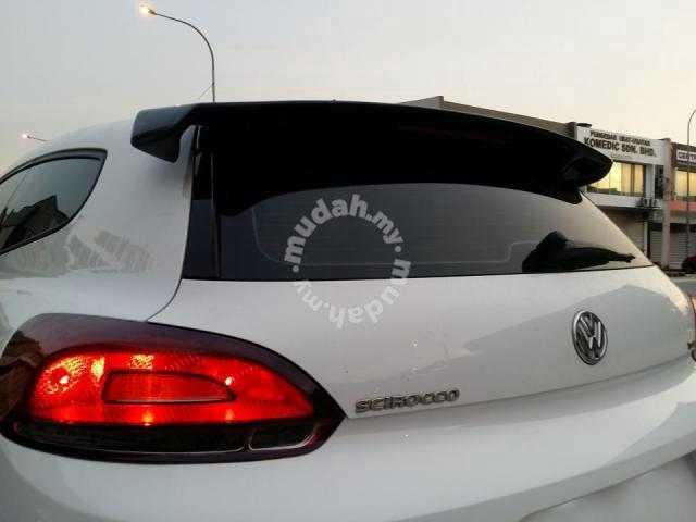 vw scirocco votex r cup frp spoiler car accessories. Black Bedroom Furniture Sets. Home Design Ideas
