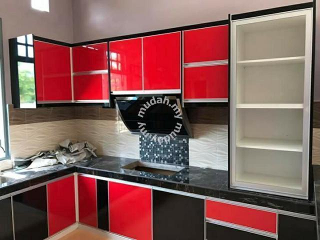 Tempahan Kabinet Dapur Berkualiti Dan Murah Furniture Decoration For In Others Kelantan
