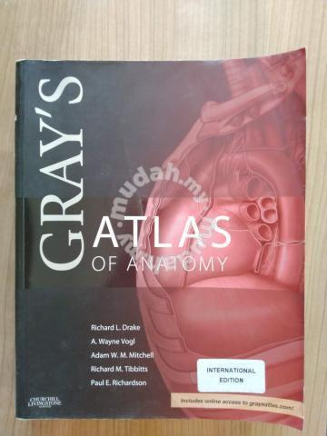 Gray S Atlas Of Anatomy 1st Edition Textbooks For Sale In Ipoh Perak
