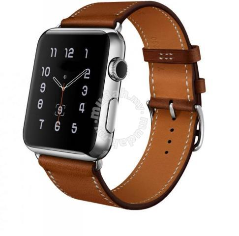 Apple Watch Band Brown Leather Band Strap Watches Fashion Accessories For Sale In Bangsar Kuala Lumpur