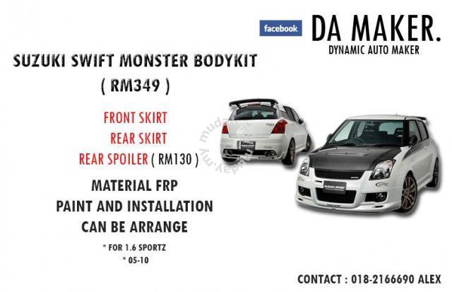 Suzuki swift monster bodykit