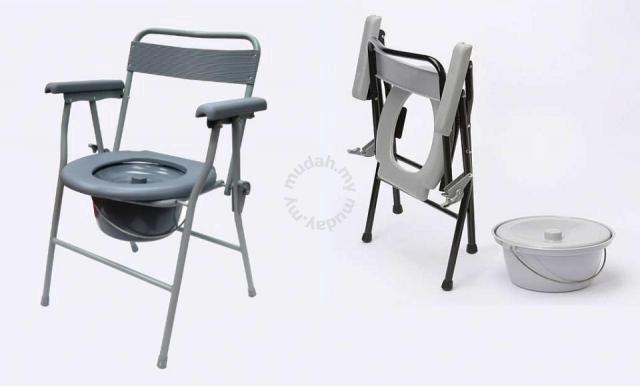 Folding Chair Toilet seat stool kerusi tandas aid - Health ...
