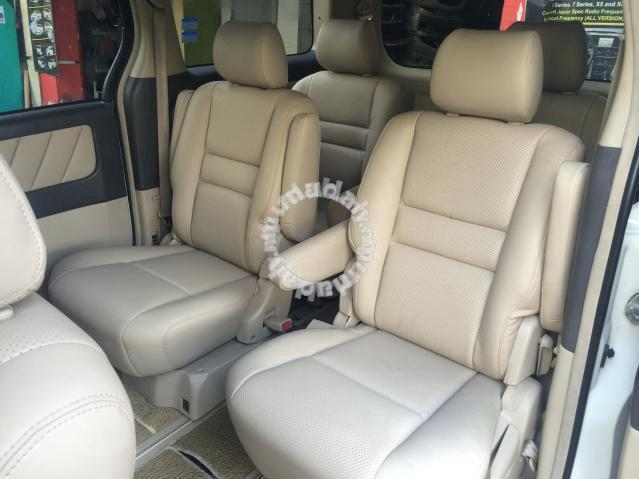 estima vellfire alphard 8 seater converted 7 seat car accessories parts for sale in setapak. Black Bedroom Furniture Sets. Home Design Ideas