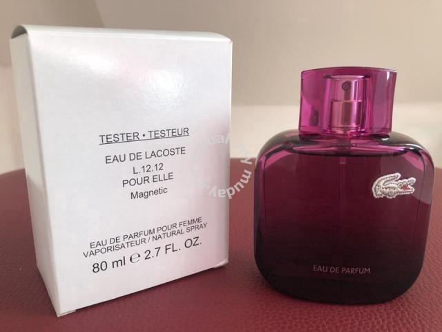 Sale Lacoste Beauty Edp 80ml 12 De In L Pour 12 Shah Healthamp; Elle Eau Magnetic AlamSelangor For rdtQshxC