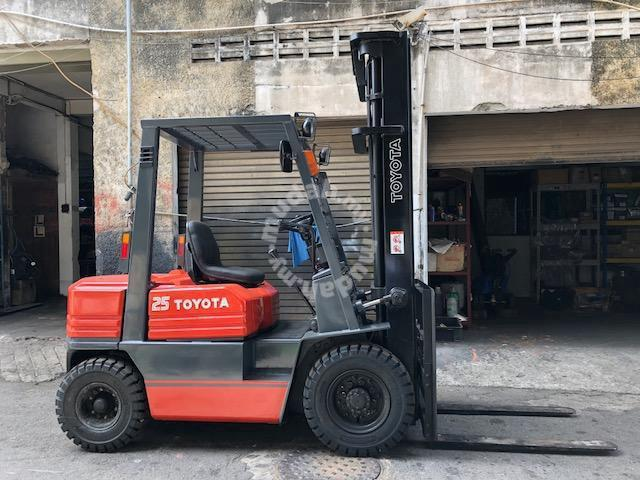 Japan Import 2 5 Ton Diesel TOYOTA Forklift 6Meter - Commercial Vehicle &  Boats for sale in Kuantan, Pahang