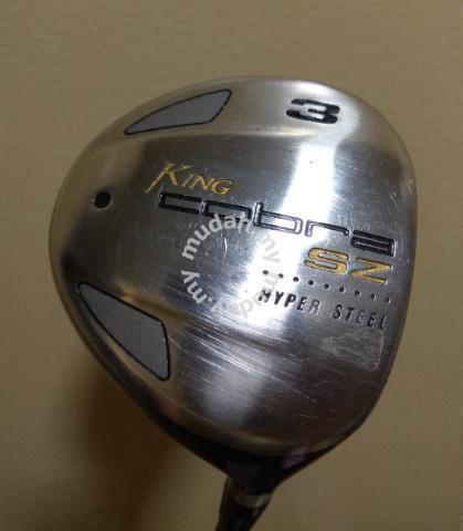 NAG King Cobra Golf SZ HyperSteel 3W 15* S-Flex RH - Sports & Outdoors for  sale in Ara Damansara, Selangor