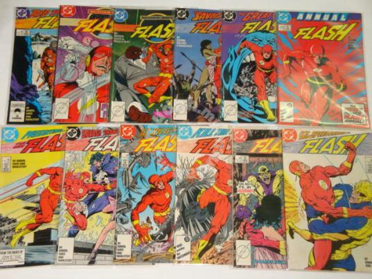 51e4c9ea8b1 FLASH. 1987. vol.2 issue 1-11. Collectors Item - Hobby   Collectibles ...