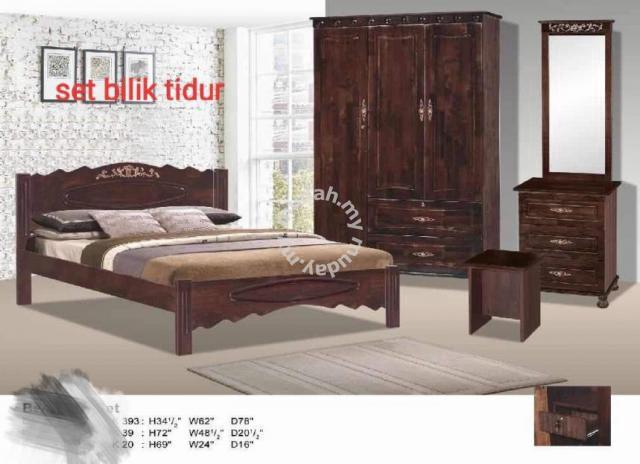 Set Bilik Tidur Furniture Decoration For In Kuala Terengganu