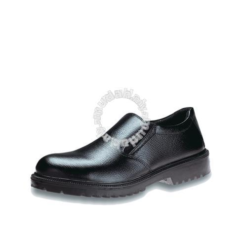 Safety Shoes Kings Men Low Cut Strap On Black KWS841 Customize