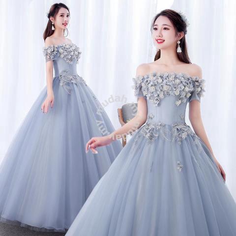 3413493de5 Purple prom wedding bridal ball dress gown RB0792 - Wedding for sale in Johor  Bahru