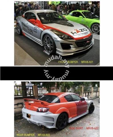 Mazda rx8 rx 8 amemiya bodykit body kit bumper - Car Accessories & Parts  for sale in Setapak, Kuala Lumpur
