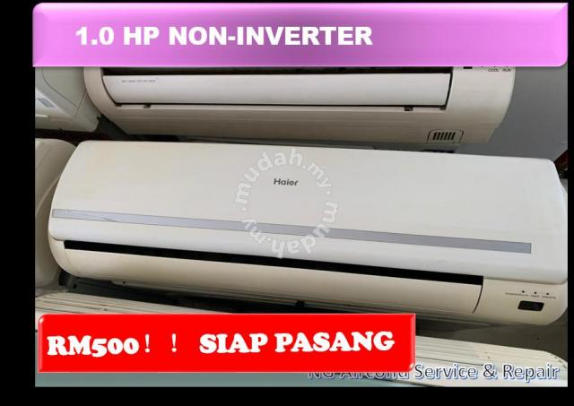1 0hp second hand aircond/ipoh