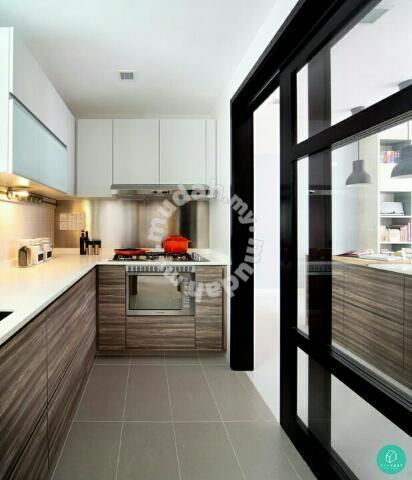 Kitchen Cabinet Sliding Door Partition Furniture Decoration