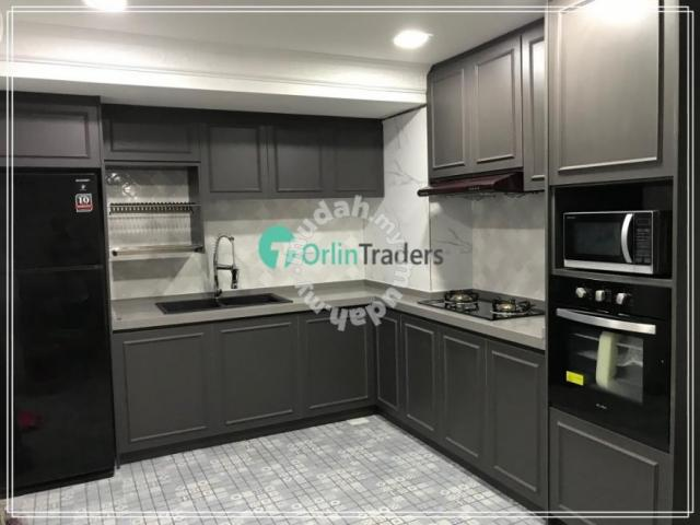 Kitchen Cabinet Kl Traders Gombak Promo Melamine Furniture