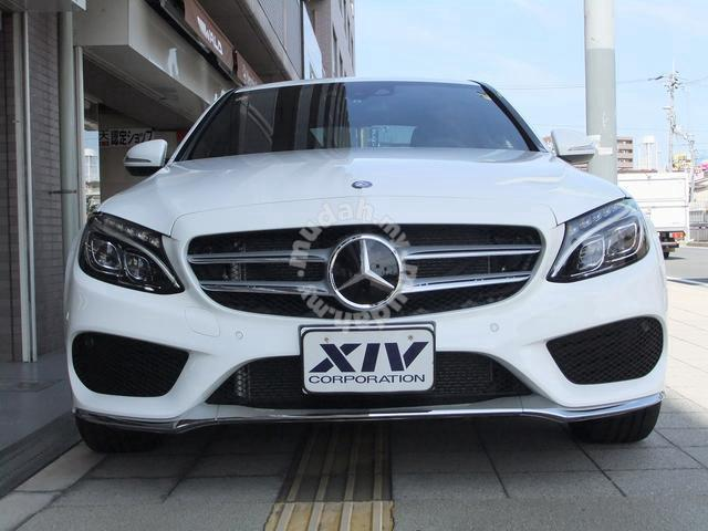 Mercedes benz w205 amg bumperw205 bodykit car for Mercedes benz amg accessories parts