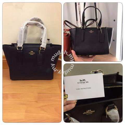 e354fc99 Coach black leather handle bag. - Bags & Wallets for sale in Sentul, Kuala  Lumpur