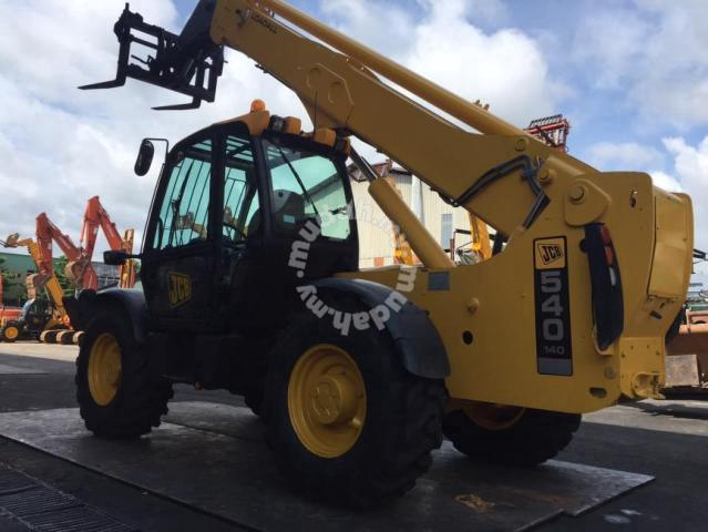 Imported JCB 540-140 Telescopic Forklift (14m) - Commercial Vehicle & Boats  for sale in Balakong, Selangor
