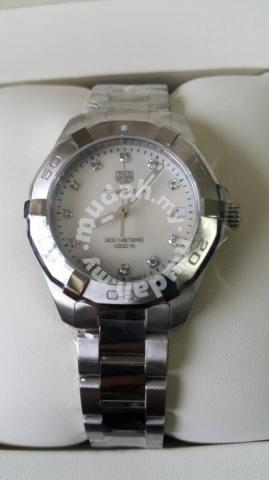 New Tag Heuer Aquaracer Mother Of Pearl Diamond Watches Fashion Accessories For Sale In Kepong Kuala Lumpur
