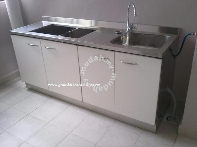 Stainless Steel Kitchen Cabinets Home Appliances Kitchen For Sale In Kulim Kedah