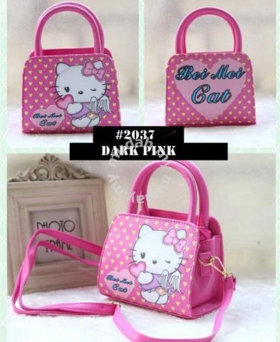 Cute Girl Hello Kitty Handbag bag  15e77c03f03f8