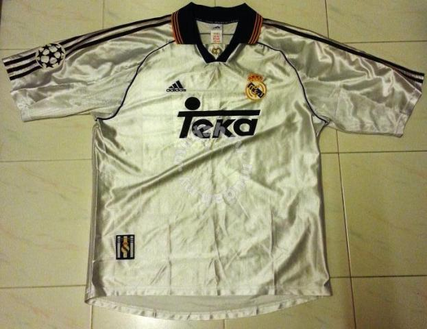 official photos 5280f 977df RARE Vintage Real Madrid Jersey Champions League L - Sports & Outdoors for  sale in Old Klang Road, Kuala Lumpur