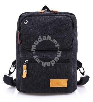 b189a79c8 Stylish Dual-Use Black Casual Chest Bag Backpack - Bags & Wallets ...