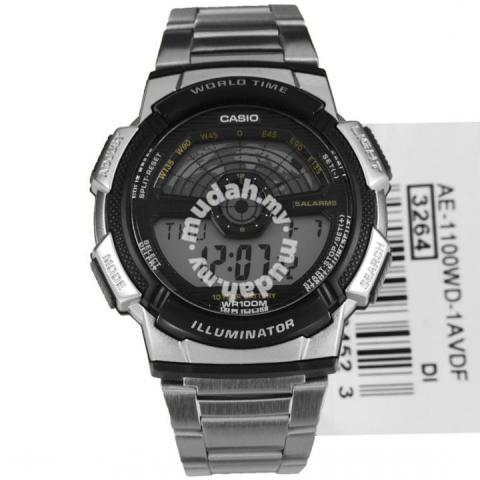 36c28ae6653c CASIO Men World Time Sport Watch AE-1100WD-1AVDF - Watches ...