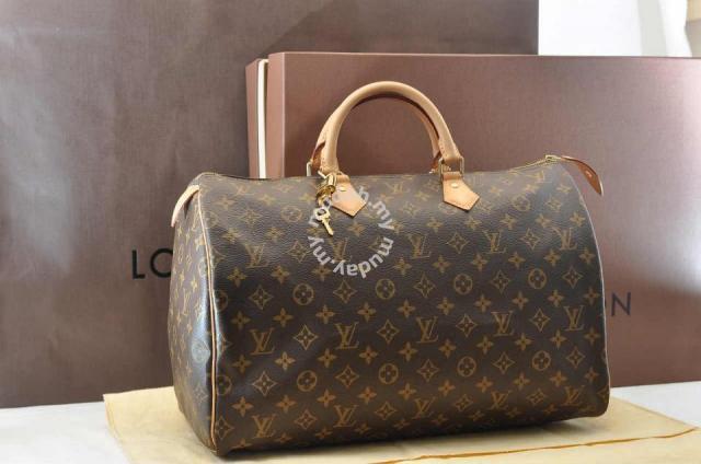 16e34a3fa00e Authentic Louis Vuitton Speedy 40 Monogram HandBag - Bags ...