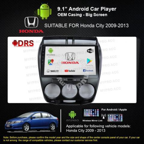 Honda city Android Wifi Car Player - Car Accessories & Parts for sale in  Shah Alam, Selangor