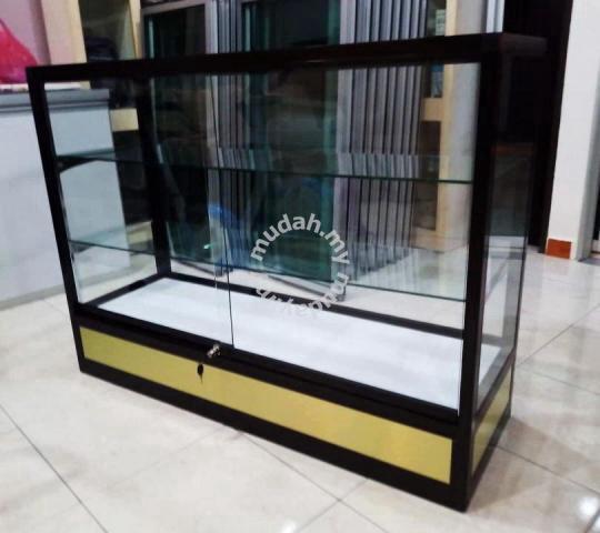 Color Panel Aluminium Glass Display, Glass Display Cabinet Malaysia