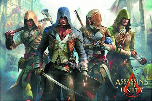 Assassins Creed Unity Poster Hobby Collectibles For Sale In Cheras Kuala Lumpur