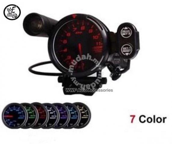 DEFI 80mm 11,000K RPM Tachometer with 7 colour - Car Accessories & Parts  for sale in Cheras, Kuala Lumpur
