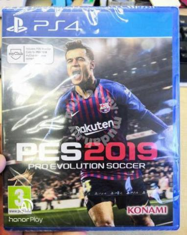 PS4 Game Pes Pro Evolution Soccer 2019 - Games & Consoles for sale in Ipoh,  Perak