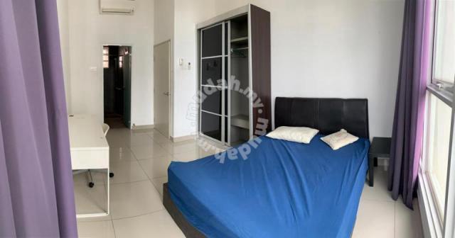 MASTER BEDROOM Fully Furnished Mutiara Ville Condo near Hospital Cyber