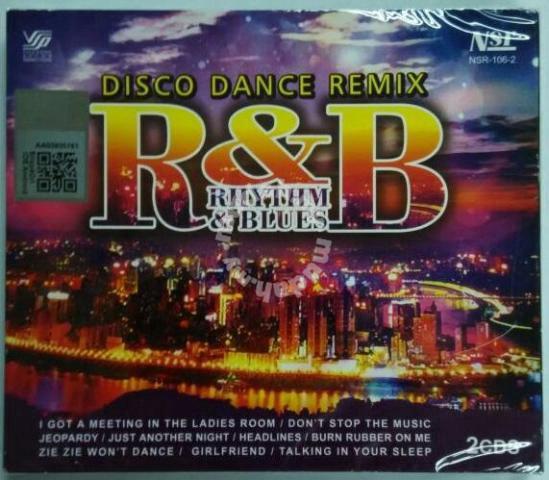 CD R&B Disco Dance Remix 2CD