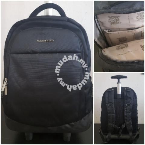 Austin Reed Trolley Bagpack Bags Wallets For Sale In Salak Tinggi Selangor Mudah My
