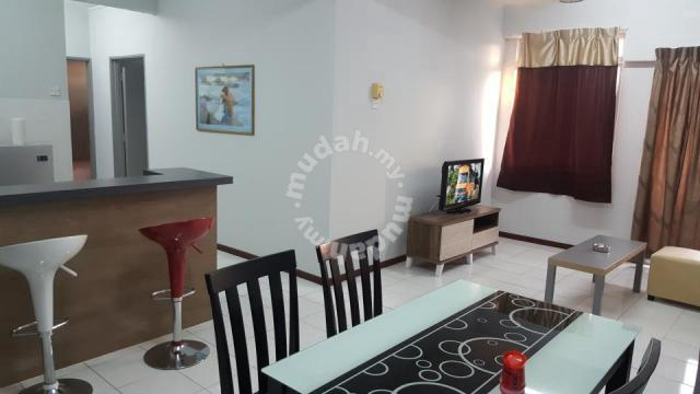 Fully Furnished Apartment at PD Perdana Condo Resort for rent PD