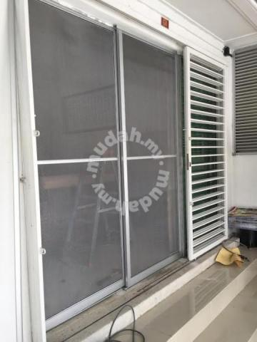 Aluminium NA SLIDING DOOR MOSQUITO NET