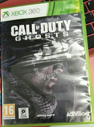 Xbox 360 Games Call Of Duty Cod Ghost Games Consoles For Sale