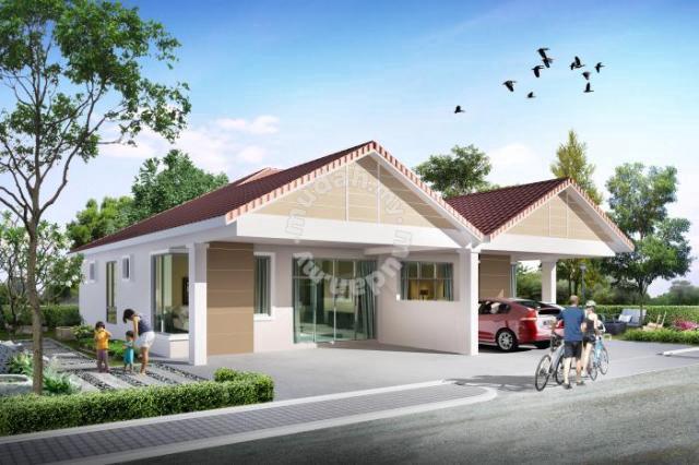 Rumah Berkembar 1 TIngkat, Taman Saderi, SImpang Empat