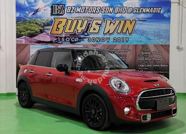 Mini Cooper Warranty >> Mini Cooper 2 0 S 5 Doors 5years Warranty Buy Win Cars For Sale In Glenmarie Selangor