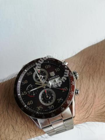 f29b281a41 Tag Heuer Carrera Calibre 16 Day-Date Brown Dial - Watches ...