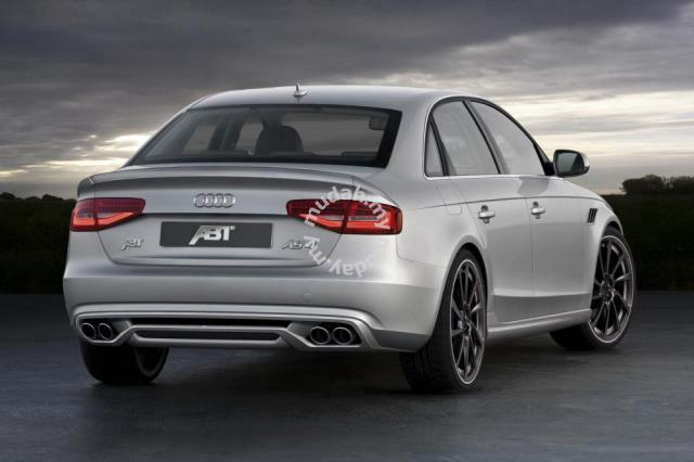 Audi A4 B8 Abt Style Rear Lip Diffuser Spoiler Car Accessories
