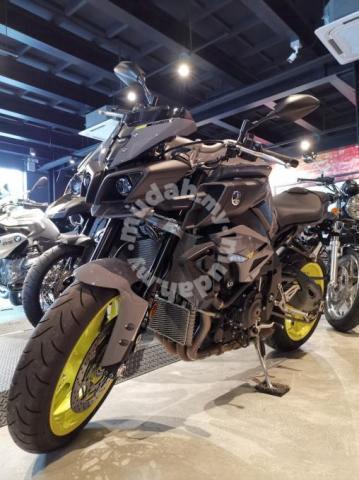 2017 Yamaha MT10 unreg dp 10% shop loan up 9years mt-10