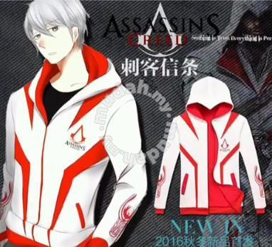 Ubisoft Assassin Creed Hoodie Jacket Clothes For Sale In Ipoh Perak