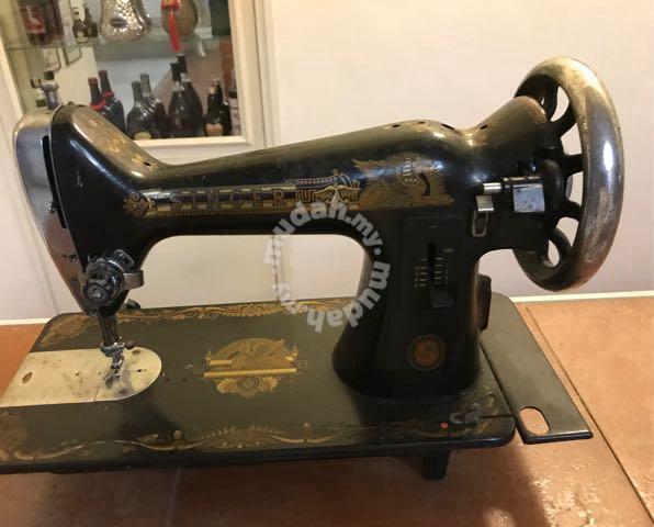 Models older singer machines sewing Vintage Singer