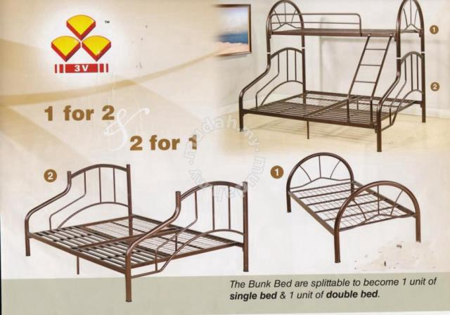 2 In 1 Bed Gwfe Ag903 Furniture Decoration For Yih Selangor