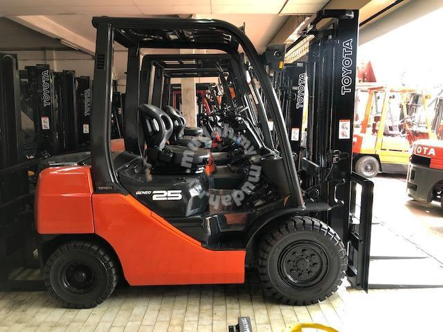 Japan Direct Import 2 5 Ton Diesel Toyota Forklift - Commercial Vehicle &  Boats for sale in Kuala Terengganu, Terengganu